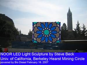 NOOR LED light Sculpture